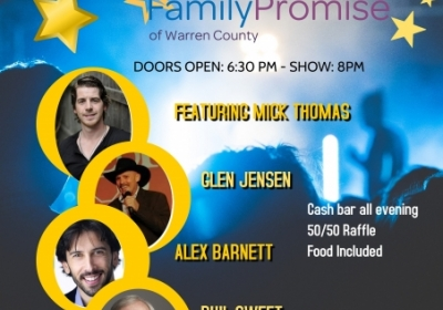 Spring Break Comedy Night, presented by Family Promise of Warren County