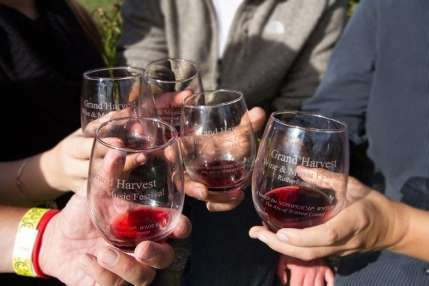 Grand Harvest Wine & Music Festival at Rutherfurd Hall September 25