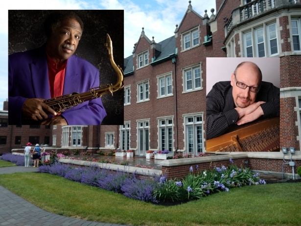 Houston Person with the Dave Leonhardt Trio at Rutherfurd Hall on October 16