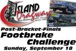 Island Dragway Footbrake Challenge