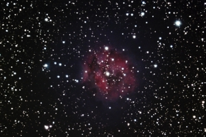 The night sky as seen from the United Astronomy Clubs of New Jersey observatories
